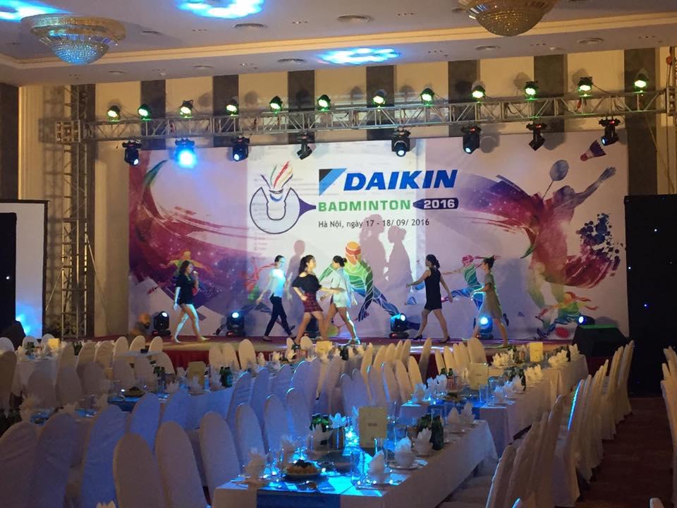 cho thuê âm thanh ánh sáng công ty DAIKIN